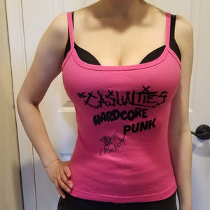 The Casualities SIGNED Tank Top